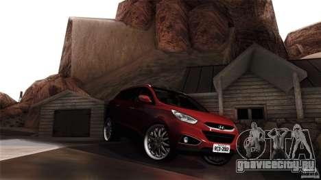 Hyundai iX35 Edit RC3D для GTA San Andreas