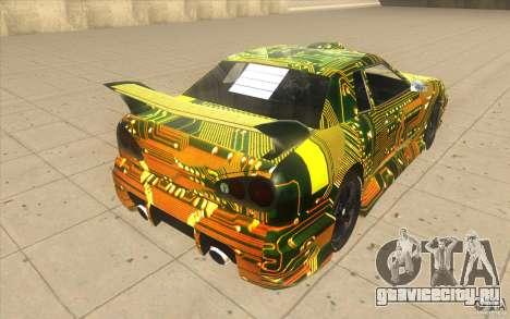 Elegy Plato для GTA San Andreas вид сзади слева