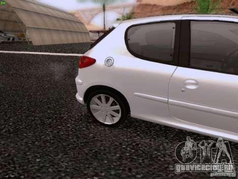 Peugeot 206 для GTA San Andreas