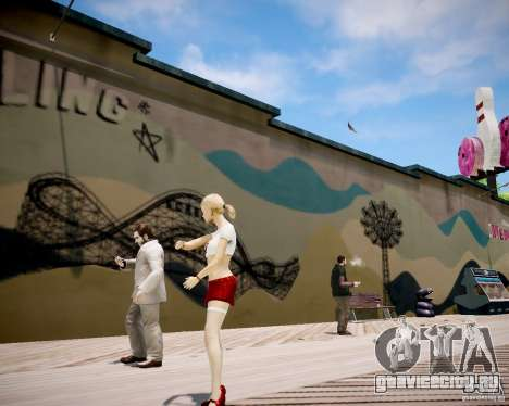 School Girl v2 для GTA 4