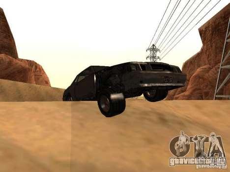 Emperor Rusty из GTA 4 для GTA San Andreas вид справа