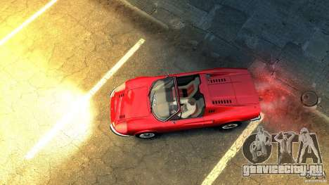 Ferrari Dino 246 GTS для GTA 4 вид сзади