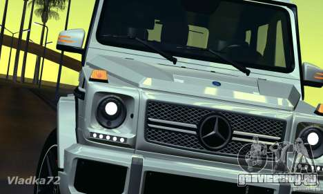 Mercedes-Benz G65 AMG 2013 для GTA San Andreas вид справа