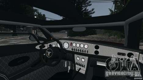 Spyker C8 Laviolette LM85 для GTA 4 вид сбоку