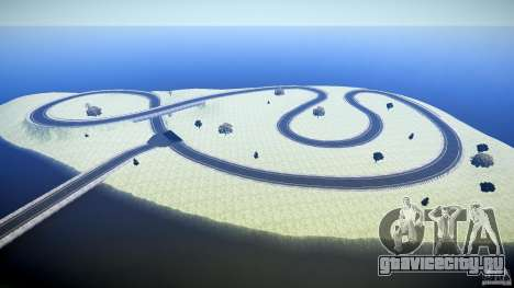 Top Gear Map для GTA 4