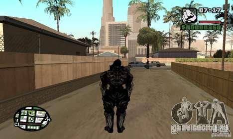 Alex Mercer v2 для GTA San Andreas второй скриншот