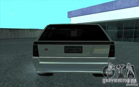 Huntley из GTA 4 для GTA San Andreas вид сзади слева