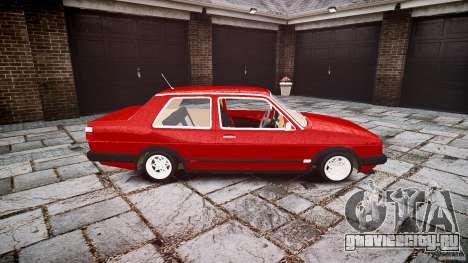 Volkswagen Jetta MKII VR6 для GTA 4 вид изнутри