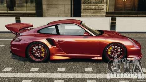 Porsche 997 GT2 Body Kit 1 для GTA 4 вид слева