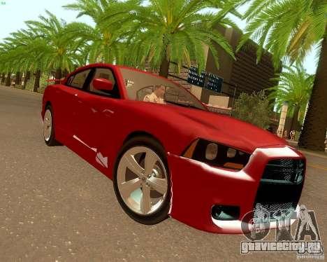 Dodge Charger SRT8 2012 для GTA San Andreas вид слева