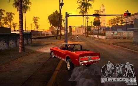 ENBSeries v1.0 By ГАЗелист для GTA San Andreas восьмой скриншот