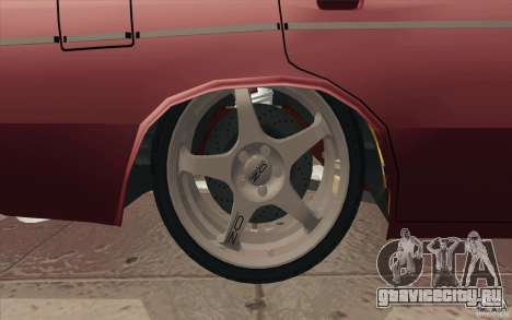 ВАЗ-2106 Lada для GTA San Andreas двигатель