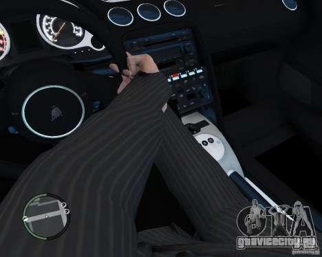 Lamborghini Gallardo 2005 для GTA 4 вид сзади