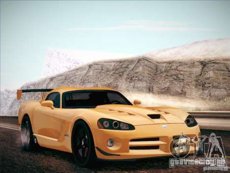 Dodge Viper SRT-10 ACR для GTA San Andreas вид справа