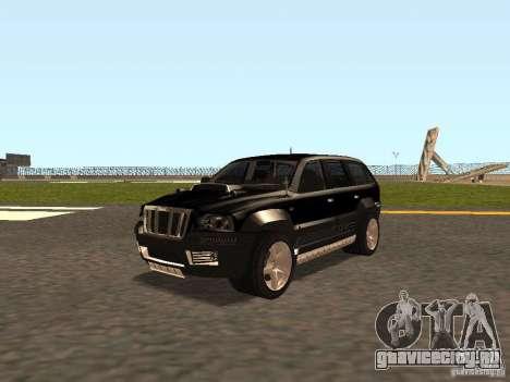 Jeep Grand Cherokee Black для GTA San Andreas