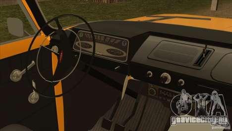 Москвич 412 v2.0 для GTA San Andreas вид сзади