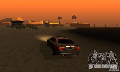 Ford Fusion Sport для GTA San Andreas вид сзади