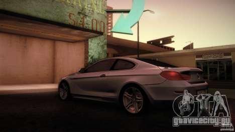 BMW 640i Coupe для GTA San Andreas вид сзади слева