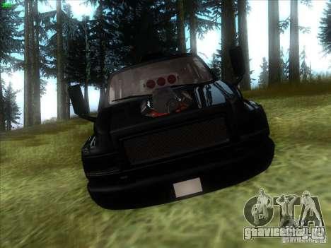 GMC C4500 Pickup DUB Style для GTA San Andreas вид сзади