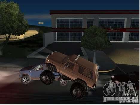 Ford Bronco IV Monster для GTA San Andreas вид сбоку