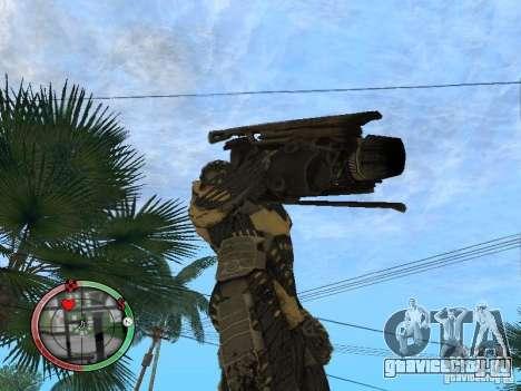 Оружие alien из Crysis 2 v2 для GTA San Andreas