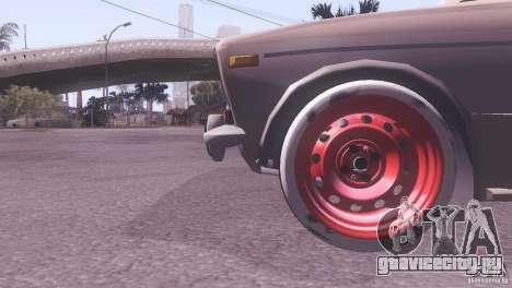 ВАЗ 2106 Tuning Rat Style для GTA San Andreas вид сзади