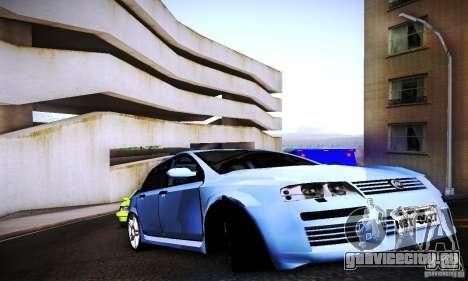 Fiat Stilo Abarth 2005 для GTA San Andreas вид справа