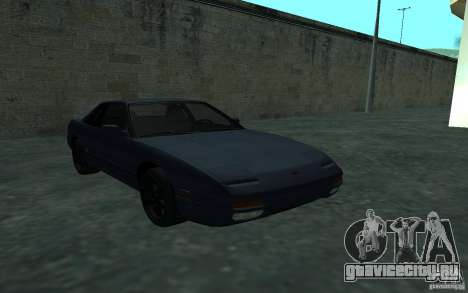 Nissan Onevia (Silvia) S13 для GTA San Andreas вид сзади