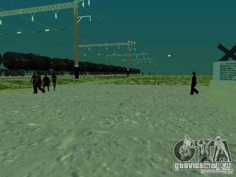 Опора контактной сети v.2 для GTA San Andreas второй скриншот