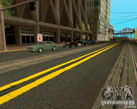 GTA 4 Roads для GTA San Andreas восьмой скриншот
