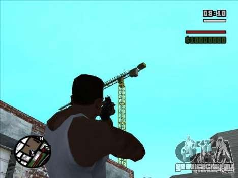 AK-74 (без приклада) для GTA San Andreas третий скриншот