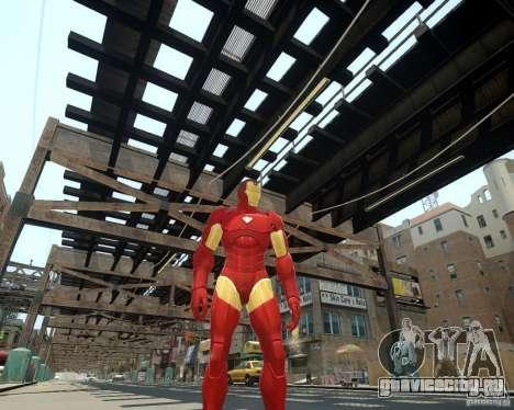 Iron Man Mk3 Suit для GTA 4 четвёртый скриншот