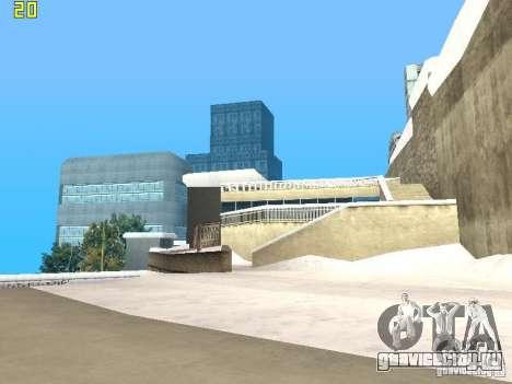 Полёт в Либерти Сити для GTA San Andreas третий скриншот