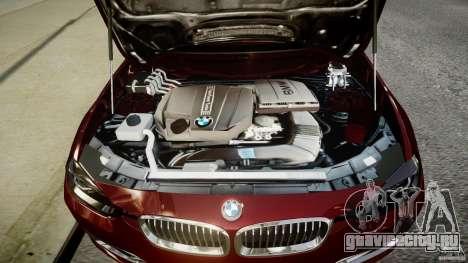 BMW 335i 2013 v1.0 для GTA 4 вид сзади