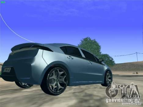 Opel Ampera 2012 для GTA San Andreas вид слева