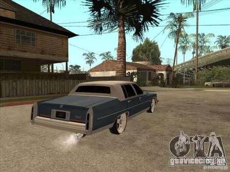 Cadillac Fleetwood Brougham 1985 для GTA San Andreas вид справа