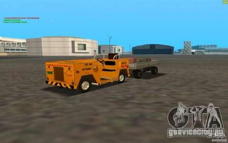 Airport Service Vehicle для GTA San Andreas