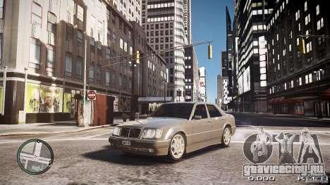 Mercedes Benz W124 E500 для GTA 4