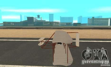 The Wright Flyer для GTA San Andreas вид слева