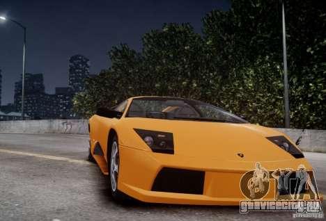 Lamborghini Murcielago для GTA 4 вид сзади