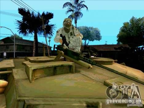 Morpeh в электронном камуфляже для GTA San Andreas пятый скриншот