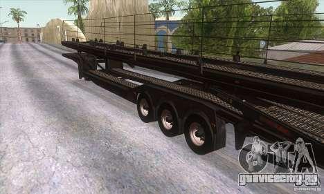 Прицеп-автовоз для GTA San Andreas вид справа
