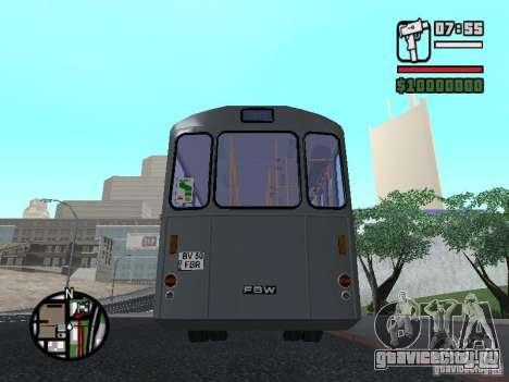 FBW Hess 91U для GTA San Andreas вид сбоку