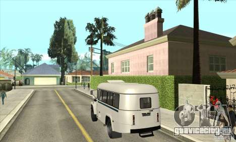 КАвЗ - 39766 для GTA San Andreas вид сзади слева