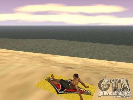 Коврик для отдыха для GTA San Andreas шестой скриншот