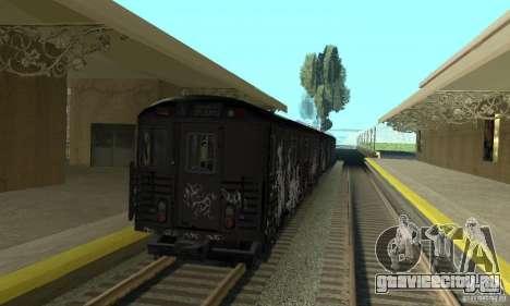 GTA IV Enterable Train для GTA San Andreas вид справа