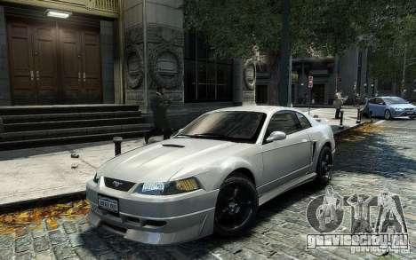 Ford Mustang Cobra R для GTA 4 вид сзади слева