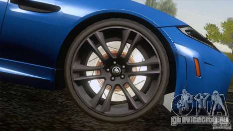 Jaguar XKR-S 2011 V1.0 для GTA San Andreas колёса
