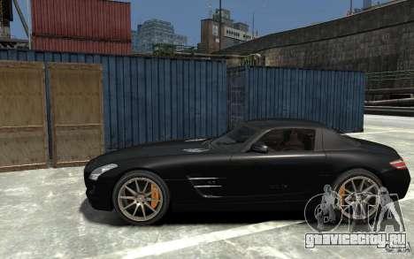 Mercedes-Benz SLS AMG 2011 v3.0 для GTA 4 вид слева