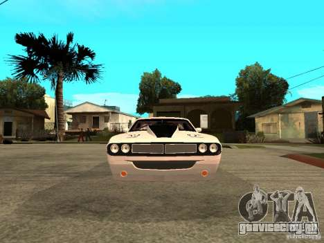 Dodge Challenger Speed 1971 для GTA San Andreas